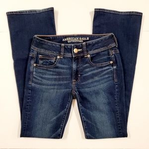 AEO Kick Boot Flare Jeans Size 2